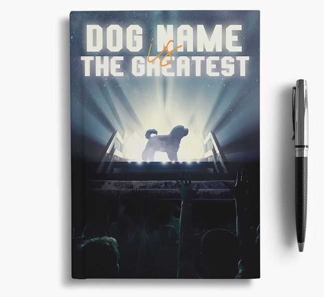 The Greatest - Personalized Maltichon Notebook