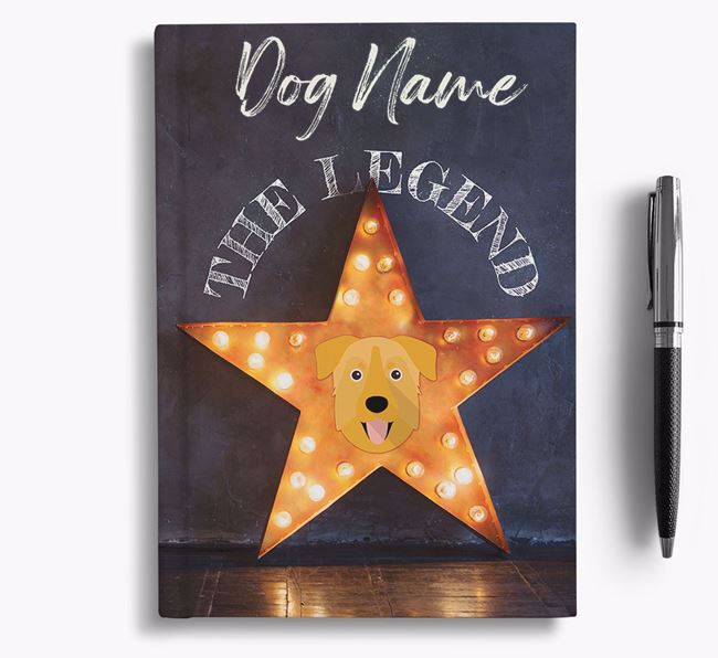 'The Legend' - Personalized Chinook Notebook