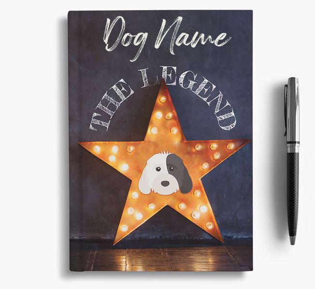 The Legend - Personalised Cockapoo Notebook/Journal