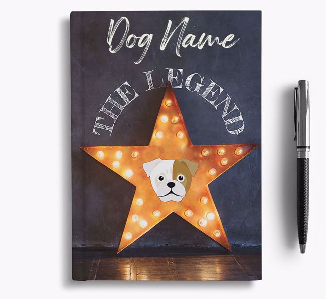 'The Legend' - Personalized Jug Notebook