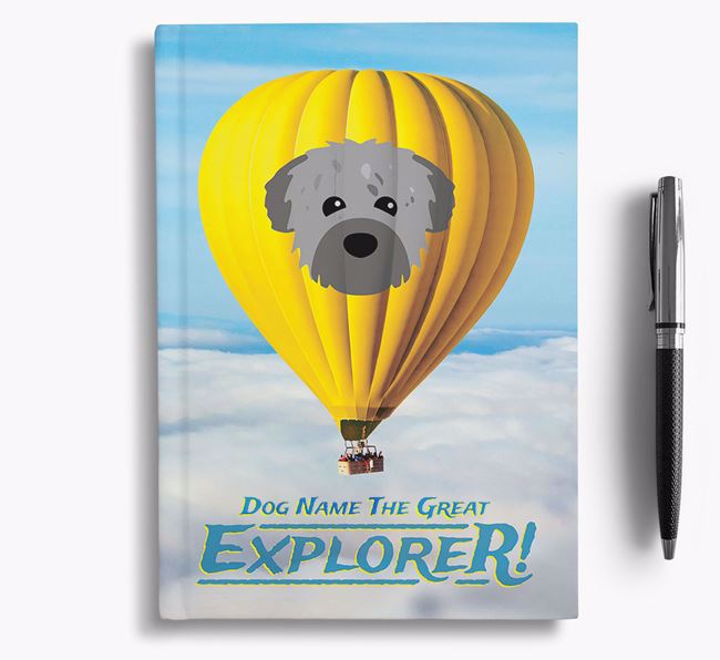 'Hot Air Balloon' - Personalized Chipoo Notebook
