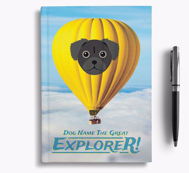 'Hot Air Balloon' - Personalized Chug Notebook