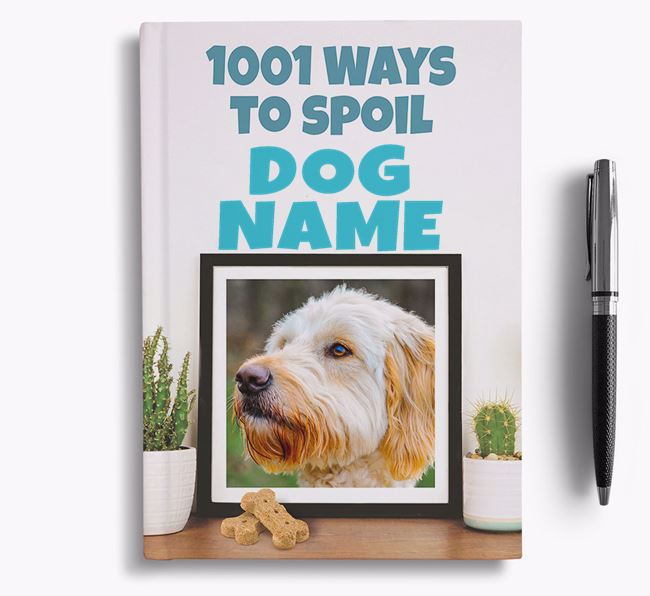'1001 Ways to Spoil' - Personalized Goldendoodle Notebook