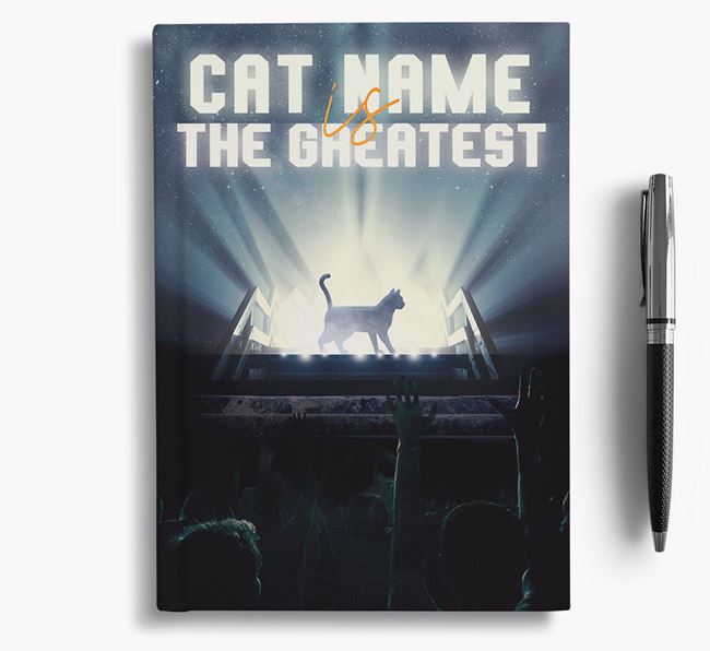 The Greatest - Personalised Siamese Notebook