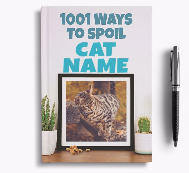 '1001 Ways to Spoil' - Personalised Bengal Notebook