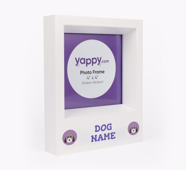 Personalised Photo Frame with Cockapoo Icons