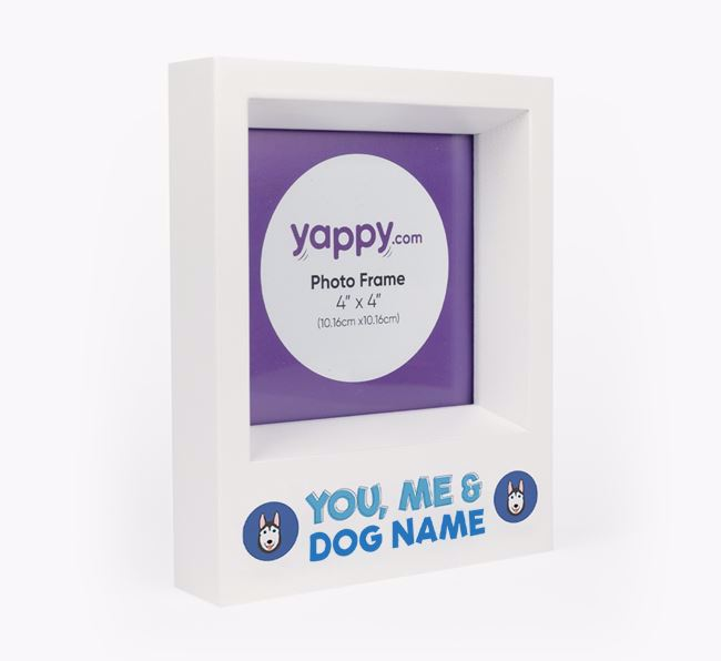 'You, Me and Your Dog' - Personalised Dog Photo Frame