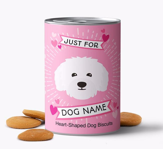 Personalised Heart-Shaped Biscuits for Your Dog