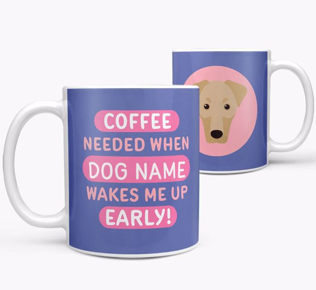 'Coffee Needed when...' Mug - Personalized for your Dobermann