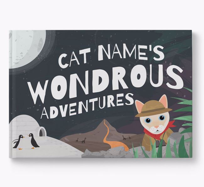 Personalised Book: Your Cat's Wondrous Adventures