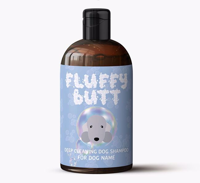 Personalised 'Fluffy Butt' Dog Shampoo for Your Dog