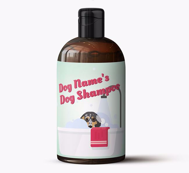 Personalised 'Bubble Bath' Shampoo for Your Dog
