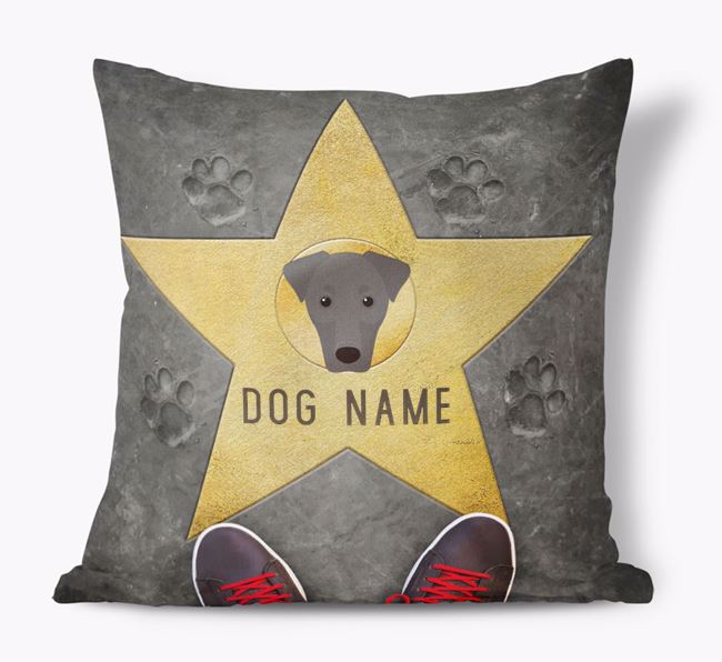 'Star of Fame' - Personalized Dobermann Soft Touch Cushion