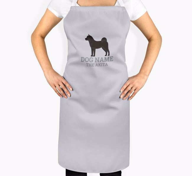 Personalized 'Your Dog The Akita' Apron