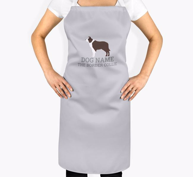 Personalized 'Your Dog The Border Collie' Apron