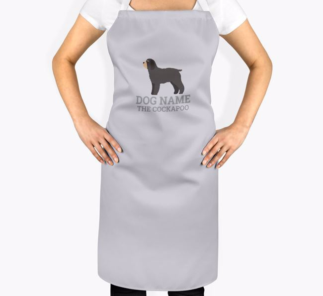 Personalised 'Your Dog The Cockapoo' Apron
