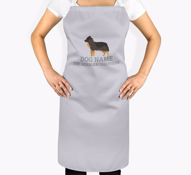 Personalized 'Your Dog The German Shepherd' Apron