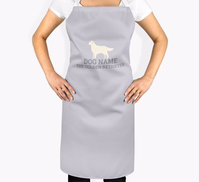 Personalized 'Your Dog The Golden Retriever' Apron