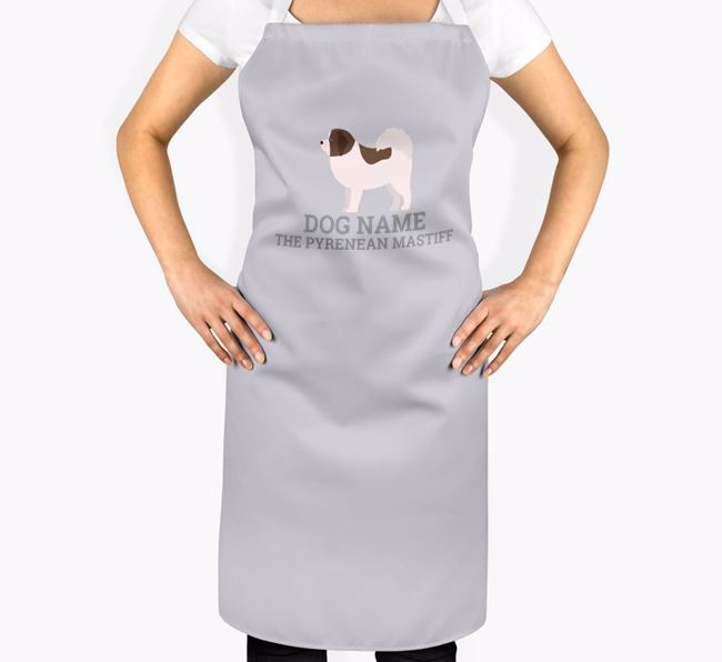 Personalized 'Your Dog The Pyrenean Mastiff' Apron