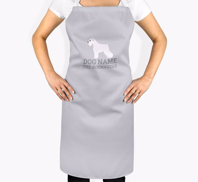 Personalized 'Your Dog The Schnauzer' Apron