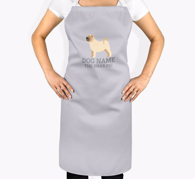 Personalized 'Your Dog The Dog' Apron
