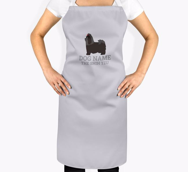 Personalized 'Your Dog The Shih Tzu' Apron