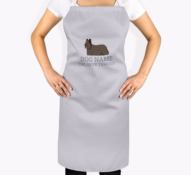 Personalized 'Your Dog The Skye Terrier' Apron