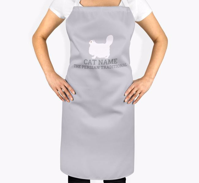 Personalized 'Your Cat The Cat' Apron