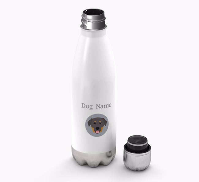 Personalised Golden Labrador Yappicon Water Bottle