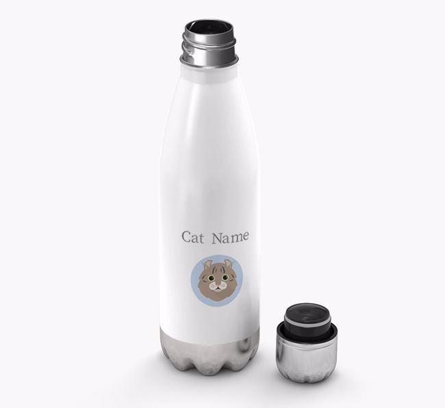 'Cat Yappicon' - Personalized Water Bottle
