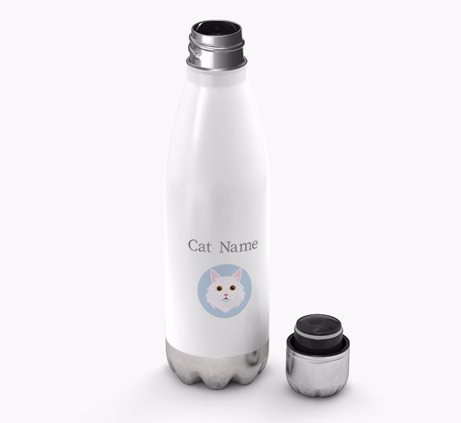 'Cat Yappicon' - Personalised Water Bottle