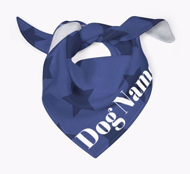 Star Pattern Dog Bandana