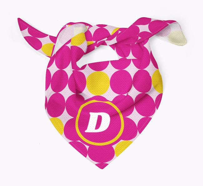 Circle Pattern Dog Bandana