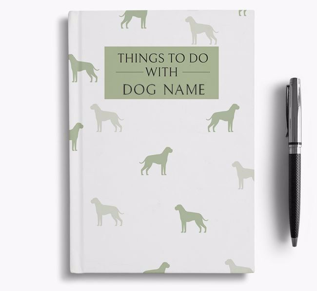 Personalised 'Things to do with Your Dog' Notebook