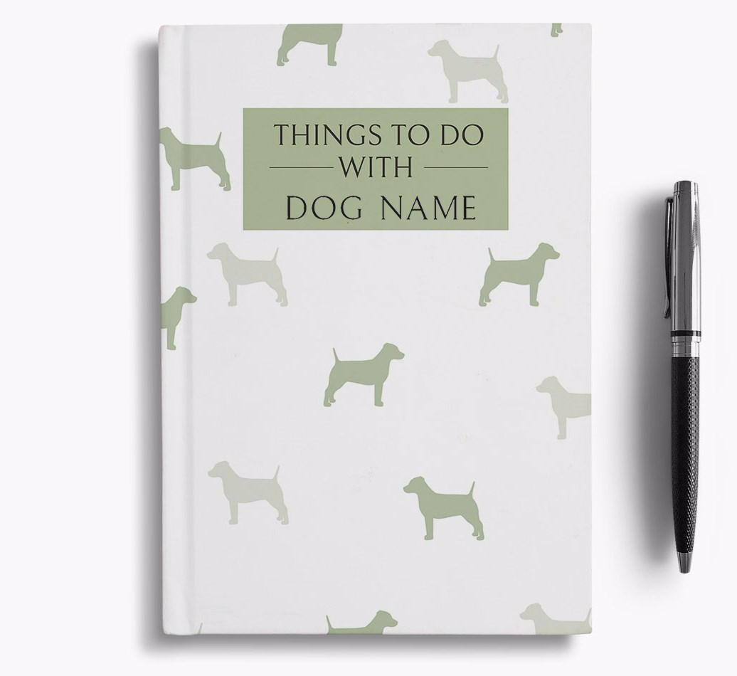Personalized 'Things to do with {dogsName}' Notebook