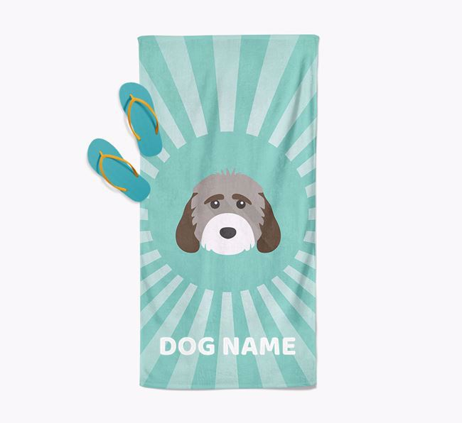 'Rays' - Personalized Cockapoo Towel