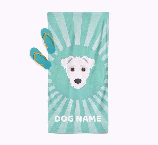 'Rays' - Personalized Jack-A-Poo Towel