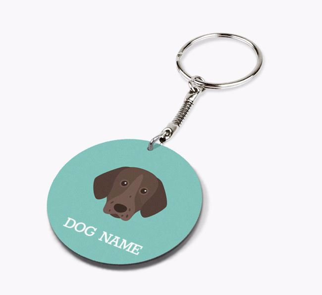 Personalised Pointer Icon Keyring