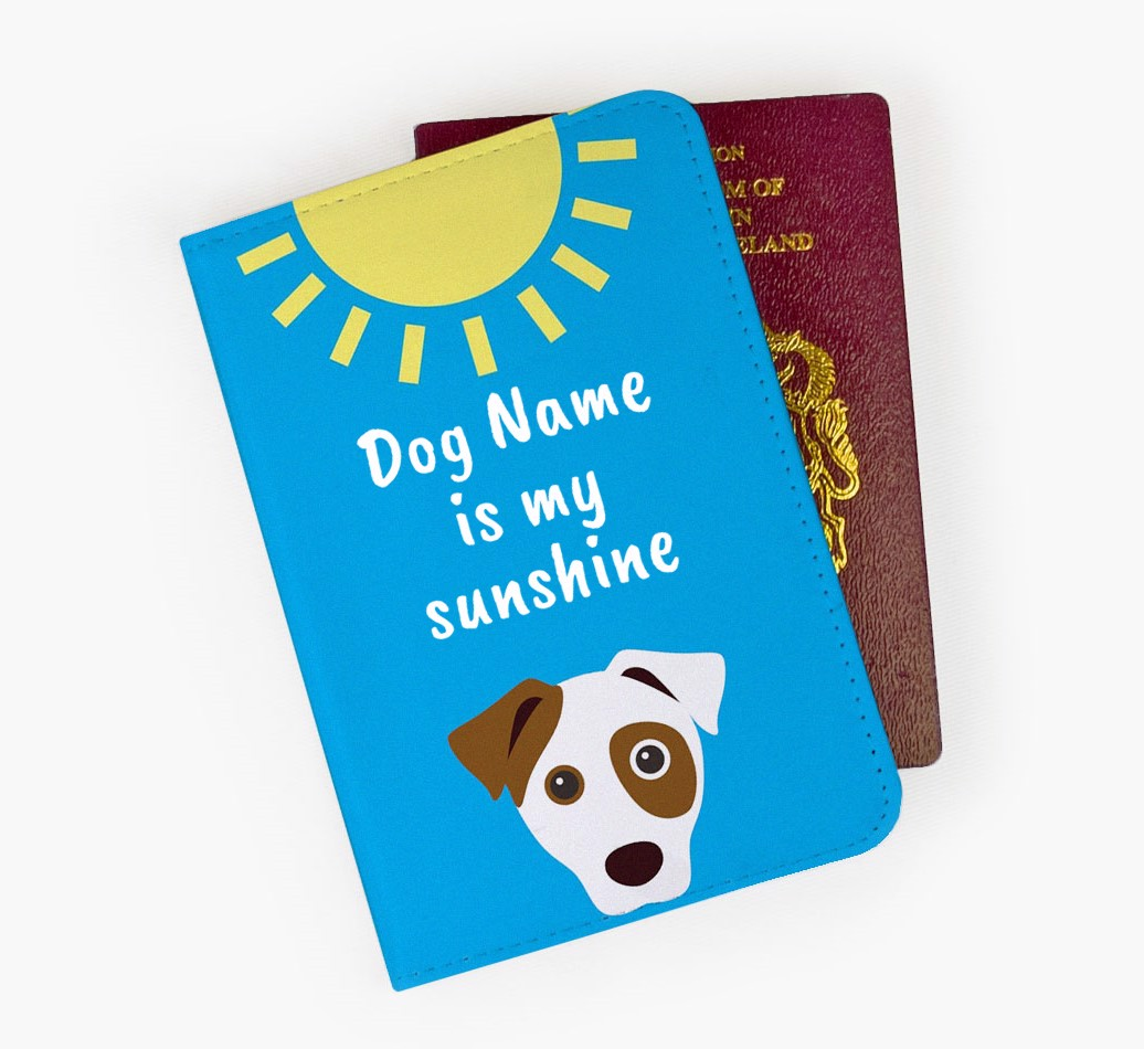 Dog Passport Cover Front