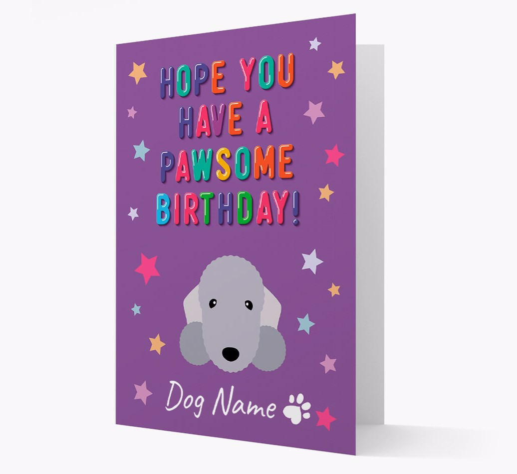 I Love Dogs Happy Birthday Boston Terrier Birthday Card Punny Birthday Card Boston Terrier Hope You Have A Pawsome Birthday