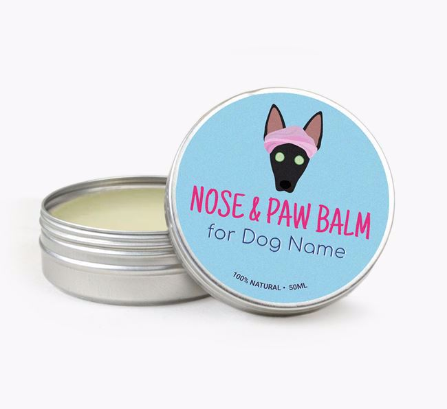 Personalised Nose & Paw Balm for your American Hairless