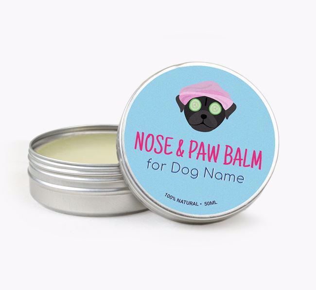 Personalised Nose & Paw Balm for your Chug