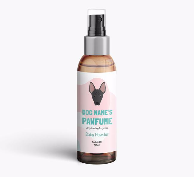 'Paw-fume' for your American Hairless Terrier