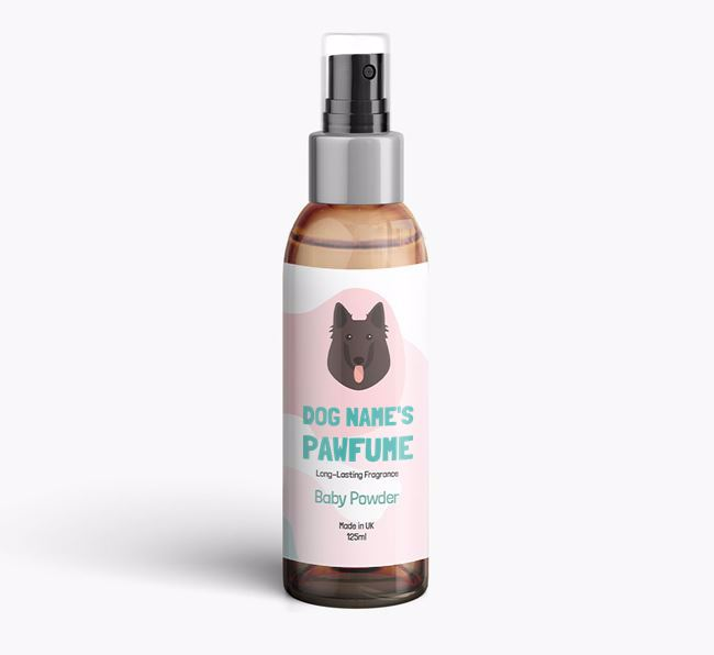 'Paw-fume' for your Belgian Groenendael