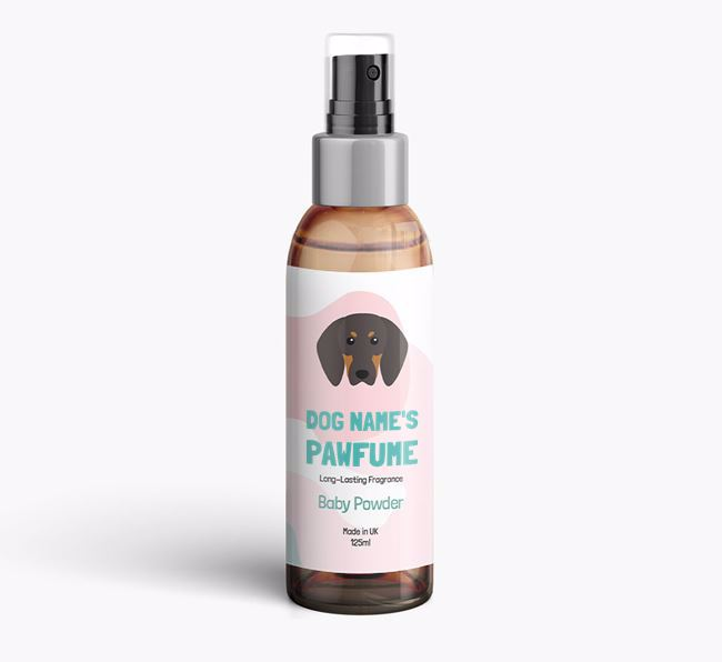 'Paw-fume' for your Black and Tan Coonhound