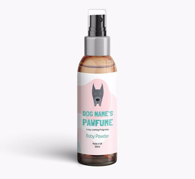'Paw-fume' for your Great Dane