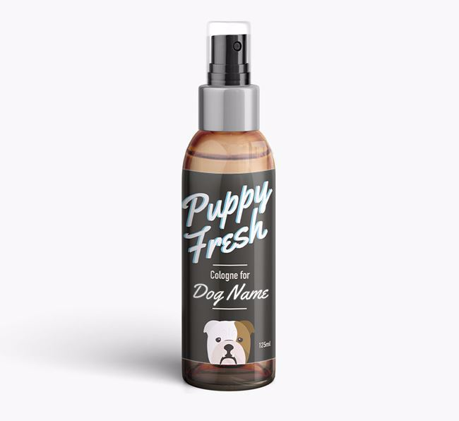 'Puppy Fresh' Fragrance for your English Bulldog