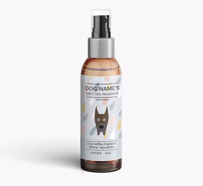 Personalised 'Dirty Dog' Fragrance for your Great Dane