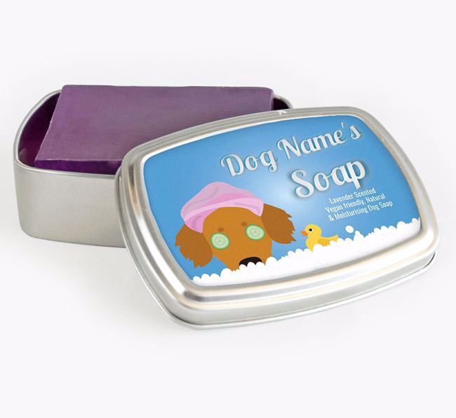 Personalised 'Bath Time' Soap Tin for your Kokoni