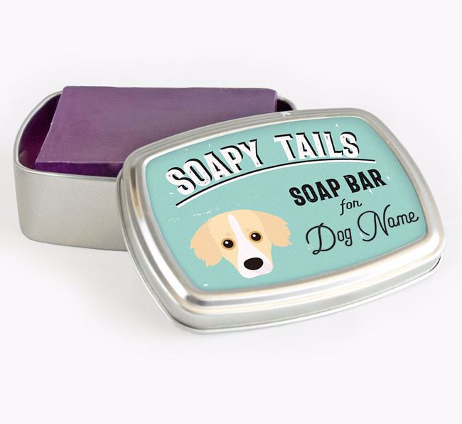 Personalised 'Soapy Tails' Soap Tin for your Kokoni